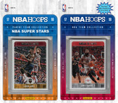 NBA Houston Rockets Licensed 2017-18 Hoops Team Set Plus 2017-18 Hoops All-Star Set