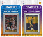 NBA Los Angeles Lakers Licensed 2017-18 Hoops Team Set Plus 2017-18 Hoops All-Star Set
