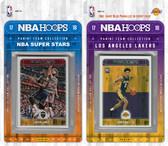 NBA Los Angeles Lakers Licensed 2017-18 Hoops Team Set Plus 2017-18 Hoops All-Star Set