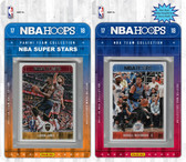 NBA Oklahoma City Thunder Licensed 2017-18 Hoops Team Set Plus 2017-18 Hoops All-Star Set