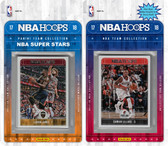 NBA Portland Trail Blazers Licensed 2017-18 Hoops Team Set Plus 2017-18 Hoops All-Star Set