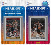 NBA San Antonio Spurs Licensed 2017-18 Hoops Team Set Plus 2017-18 Hoops All-Star Set