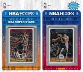 NBA Utah Jazz Licensed 2017-18 Hoops Team Set Plus 2017-18 Hoops All-Star Set
