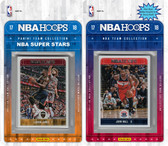 NBA Washington Wizards Licensed 2017-18 Hoops Team Set Plus 2017-18 Hoops All-Star Set