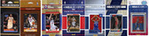 2017 NBA Philadelphia 76ers 7 Different Licensed Trading Card Team Sets