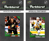 NHL Anaheim Ducks 2017 Parkhurst Team Set and All-Star Set