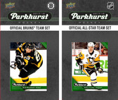 NHL Boston Bruins 2017 Parkhurst Team Set and All-Star Set