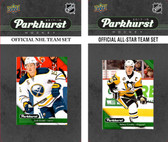 NHL Buffalo Sabres 2017 Parkhurst Team Set and All-Star Set
