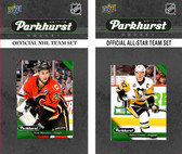 NHL Cagary Flames 2017 Parkhurst Team Set and All-Star Set