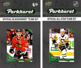 NHL Chicago Blackhawks 2017 Parkhurst Team Set and All-Star Set