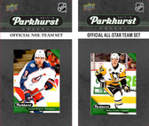NHL Columbus Blue Jackets 2017 Parkhurst Team Set and All-Star Set