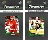 NHL Detroit Red Wings 2017 Parkhurst Team Set and All-Star Set