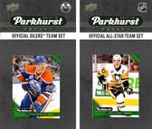 NHL Edmonton Oilers 2017 Parkhurst Team Set and All-Star Set
