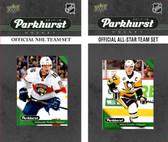 NHL Florida Panthers 2017 Parkhurst Team Set and All-Star Set