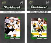 NHL Las Vegas Golden Knights 2017 Parkhurst Team Set and All-Star Set