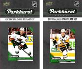 NHL Minnesota Wild 2017 Parkhurst Team Set and All-Star Set