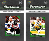 NHL Phoenix Coyotes 2017 Parkhurst Team Set and All-Star Set