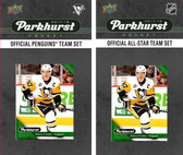 NHL Pittsburgh Penguins 2017 Parkhurst Team Set and All-Star Set