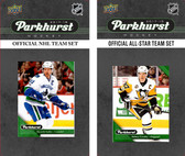NHL Vancouver Canucks 2017 Parkhurst Team Set and All-Star Set