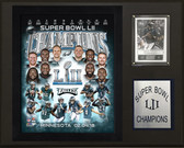 "NFL 12""x15"" PhiladelphiaEagles Super Bowl XLII Champions Plaque"
