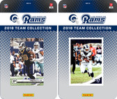 NFL Los Angeles Rams Licensed 2018 Panini and Donruss Team Set