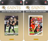 NFL New Orleans Saints Licensed 2018 Panini and Donruss Team Set