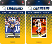 NFL San Diego Chargers Licensed 2018 Panini and Donruss Team Set