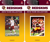 NFL Washington Redskins Licensed 2018 Panini and Donruss Team Set
