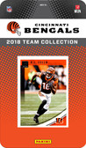 NFL Cincinnati Bengals Licensed 2018 Donruss Team Set.