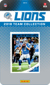NFL Detroit Lions Licensed 2018 Donruss Team Set.