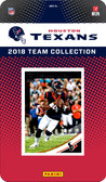 NFL Houston Texans Licensed 2018 Donruss Team Set.