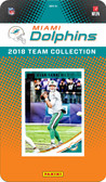 NFL Miami Dolphins Licensed 2018 Donruss Team Set.