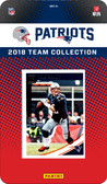 NFL New England Patriots Licensed 2018 Donruss Team Set.