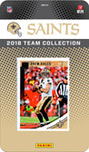 NFL New Orleans Saints Licensed 2018 Donruss Team Set.