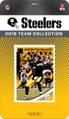 NFL Pittsburgh Steelers Licensed 2018 Donruss Team Set.