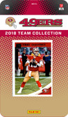 NFL San Francisco 49ers Licensed 2018 Donruss Team Set.