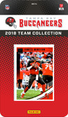 NFL Tampa Bay Buccaneers Licensed 2018 Donruss Team Set.