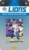 NFL Detroit Lions Licensed 2018 Prestige Team Set.