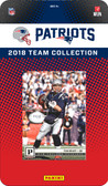 NFL New England Patriots Licensed 2018 Prestige Team Set.