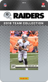 NFL Oakland Raiders Licensed 2018 Prestige Team Set.