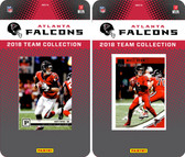 NFL Atlanta Falcons Licensed 2018 Panini and Donruss Team Set