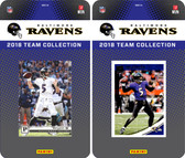 NFL Baltimore Ravens Licensed 2018 Panini and Donruss Team Set