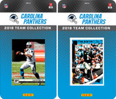 NFL Carolina Panthers Licensed 2018 Panini and Donruss Team Set
