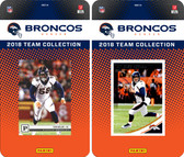 NFL Denver Broncos Licensed 2018 Panini and Donruss Team Set