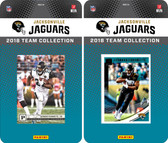 NFL Jacksonville Jaguars Licensed 2018 Panini and Donruss Team Set