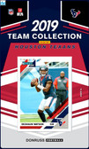 NFL Houston Texans Licensed2019 Donruss Team Set