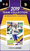 NFL Minnesota Vikings Licensed2019 Donruss Team Set