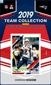 NFL New England Patriots Licensed2019 Donruss Team Set