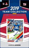 NFL New York Giants Licensed2019 Donruss Team Set