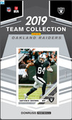 NFL Oakland Raiders Licensed2019 Donruss Team Set